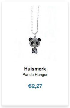 Panda Hanger www.ovstore.nl/nl/panda-hanger.html