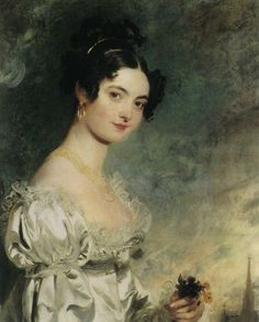 Portrait of Lady Selina Meade, later Countess Clam-Martinic by Thomas Lawrence, 1819.