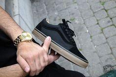 Vans Old Skool Reissue DX - Coated Black/Gum - 2016 (by loriginalnamur)  Buy at: Vans.com / Foot District / Farfetch / Sneakerbaas