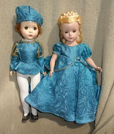 Madame Alexander 1950's Prince Charming and Cinderella Dolls | eBay