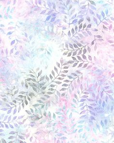 Tropical Breeze Balis - Misty Fern Batik - Pastel