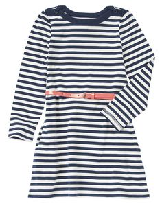 Belted Stripe Dress at Crazy 8 / 14