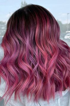 @chelseabrebeauty used Electric Paradise, Virgin Pink, Girls Night and Violet Dream ✨ #AFelectricparadise #AFvirginpink #AFgirlsnight #AFvioletdream Hair Color Pink, Pink Hair, Semi Permanent Hair Dye, Arctic Fox Hair Color, How To Lighten Hair, Bright Hair, Light Brown Hair, Free Hair, Pink Aesthetic