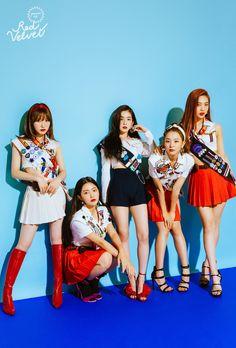 Wendy, Yeri, Irene, Seulgi and Joy (Red Velvet). Irene Red Velvet, Red Velvet Joy, Red Velvet Seulgi, Red Velvet Wendy, Black Velvet, Kpop Girl Groups, Kpop Girls, 1million Dance Studio, Models