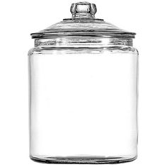 Large glass jars are perfect for holding dry goods in a pantry.   $33