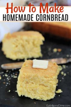The Rise Of Private Label Brands In The Retail Meals Current Market Homemade Cornbread Recipe. Searching For An Easy Homemade Cornbread Recipe? This Is The Best Corn Bread Recipe Where You Can Make Cornbread From Scratch Easily. Low Fat Chicken Recipes, Easy Bread Recipes, Baking Recipes, Buttery Cornbread Recipe, Homemade Cornbread, Cornbread Recipe From Scratch, Cornbread Recipes, How To Make Cornbread, Homemade Butter