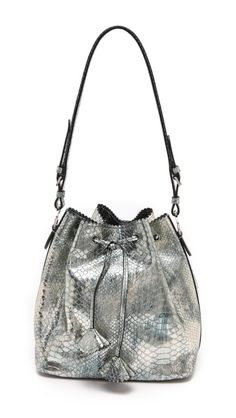 Rochas | Snake Embossed Drawstring Bag | SHOPBOP | Get up to 9.2% Cashback when you shop at SHOPBOP as a DubLi member! Not a member? Sign up for FREE today! www.downrightdealz.net