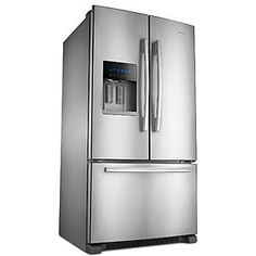 Amana - AFI2539ERM - 24.7 cu. ft. French Door Bottom-Freezer Refrigerator w/ Fast Cool Option - Stainless Steel | Sears Outlet