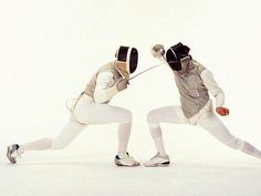 Fencing enthusiast?  Watch out for these types of fencers.