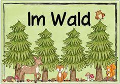 "Ideenreise: Themenplakat ""Im Wald"""