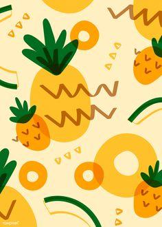 illustration : – Picture : – Description Abbey Withington -Read More – Vogel Illustration, Fruit Illustration, Pattern Illustration, Food Illustrations, Pineapple Illustration, Beach Illustration, Vintage Wallpaper, Wallpaper Free, Pattern Wallpaper