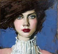Fine Art and You: Malcolm Liepke | American Figurative Painter | 1953 | Ladies