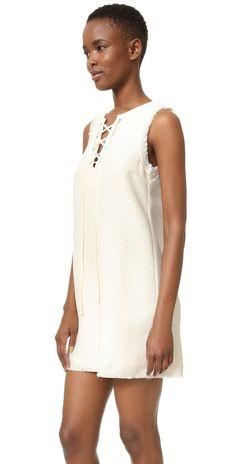 J.O.A. Lace Up Dress | SHOPBOP