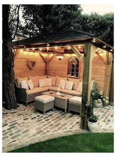 Backyard Patio Designs, Small Backyard Landscaping, Pergola Designs, Patio Ideas, Backyard Ideas, Small Patio, Landscaping Ideas, Porch Ideas, Small Backyard Design
