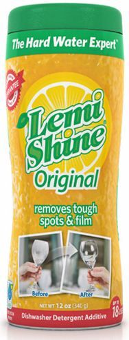 I'm not the only one who'd like to know what's in LemiShine. No idea if it's non-toxic, but it's recommended often for hard water problems that kill modern dishwashers - DISHWASHER DETERGENT