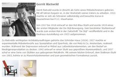 Gerrit Rietveld - deutscher Text