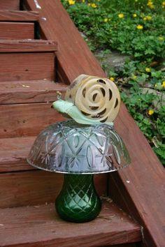 mushroom of glass