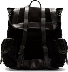 Damir Doma | Leather Backpack.