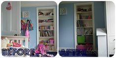Before and After - decluttering and organizing (found via google search).  www.minimalismissimple.com