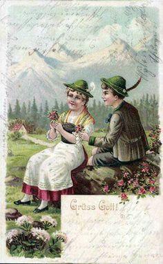 Postkarte 1903