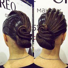 banana peel hairstyle : ... Ballroom Hairstyles on Pinterest Ballroom Hair, Hair and Ballroom