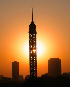 Cairo Tower - Cairo, Cairo.
