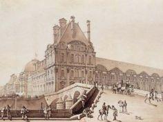L'aile Sud du palais des Tuileries jouxtant le pavillon de Flore : siège du Comité de Salut public