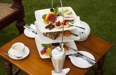 High tea at the terrace High Tea, Chocolate Fondue, Terrace, Vacation, Holiday, Desserts, Food, Tea, Vacations