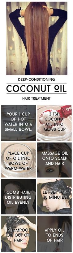 Coconut Oil Uses - cool Have dry skin? Use coconut oil. Want whiter teeth? Use coconut oil. 9 Reasons to Use Coconut Oil Daily Coconut Oil Will Set You Free — and Improve Your Health!Coconut Oil Fuels Your Metabolis Curly Hair Styles, Natural Hair Styles, Natural Curly Hair, Long Curly, Wavy Hair, Tousled Hair, 4c Hair, Natural Beauty, Hair Oil