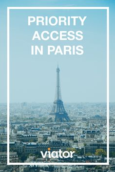 Stand out from the crowd in Europe this summer! See #Paris' top attractions with skip-the-line tickets. Book today!