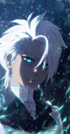Bleach © Kubo Tite Hitsugaya Toshiro - Marching Out The Zombies - anime Otaku Anime, Manga Anime, Boys Anime, Anime Art, Bleach Anime, Bleach Fanart, Shinigami, Bleach Characters, Anime Characters