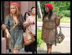 The Look For Less: Beyoncé (recreated from thrift store items)