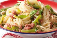 Špagety 20x jinak   Apetitonline.cz Pasta Recipes, Cabbage, Spaghetti, Pizza, Menu, Vegetables, Ethnic Recipes, Bulgur, Red Peppers