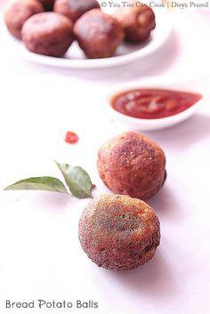 Bread Potato Balls - An easy to make snack...