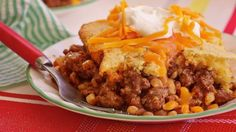 Cornbread-Chili Casserole - Trisha Yearwood | Recipe - ABC News