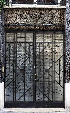 années 30, art déco, vitrail, verre, Pierre Patout, ©DR