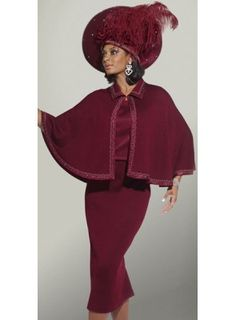 Brand: Donna Vinci Women Church Suits | Church Suits For Black Women http://www.womenschurchsuitsplus.com/womens_church_suits