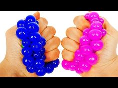 Learn Colors with Squishy Balls for Toddlers Kids and Children - YouTube