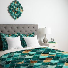 Monika Strigel Really Mermaid Duvet Cover   DENY Designs Home Accessories