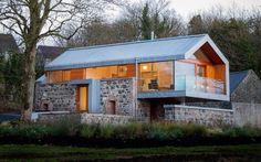 Renoviertes Haus in Kombination mit einer Scheune