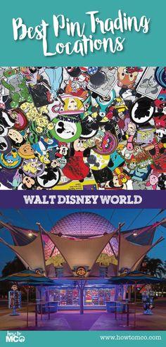 Best Pin Trading at Walt Disney World