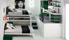 Organised Space saving Bedroom - IKEA