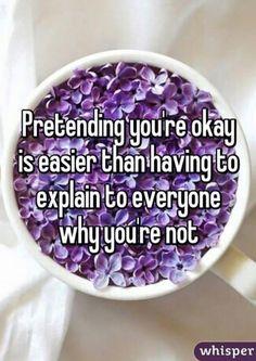 Pretending OK