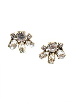 Delicate and sparkly these earrings can go with absolutely everything in your wardrobe. To show them off to their best advantage wear your hair up or back.