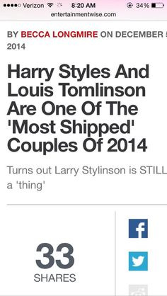 holy god. larry stylinson http://www.entertainmentwise.com/news/162865/Tumblr-reveal-Most-Shipped-couples-of-2014-list