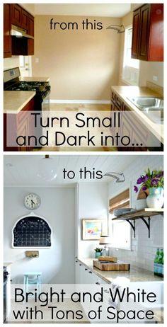Turn a small, dark g