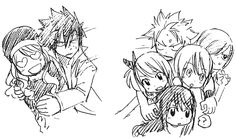"""""""I really like this picture, it seems that Mashima says that the only woman for Gray is Juvia lol. And feeds my soul Nali / Natza shipper(?). """""""