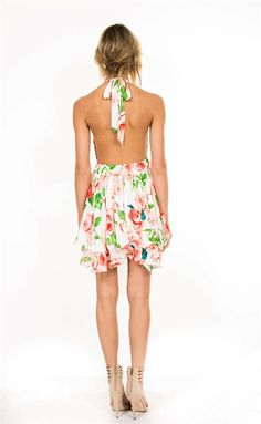 Get Aloha Halter Dress – Colors of Aurora
