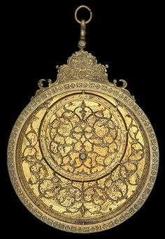 Astrolabes  Feb 23, 2012    astrolabe1.jpg    Planispheric Astrolabe from Persia, 1675/6 (A.H. 1086). Made by Muhammad Amin.