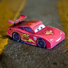 Lightning McQueen Paper craft